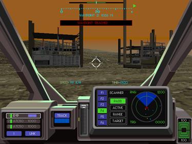 EarthSiege 2 - Screenshot - Gameplay