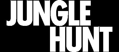 Jungle Hunt - Clear Logo