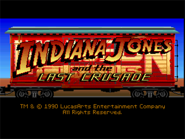 Indiana Jones and the Last Crusade: The Graphic Adventure  - Screenshot - Game Title