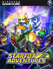 Star Fox Adventures - Fanart - Box - Front