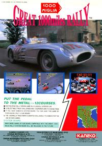 1000 Miglia: Great 1000 Miles Rally