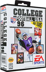 College Football USA 96 - Box - 3D