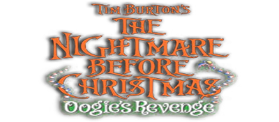 The Nightmare Before Christmas: Oogie's Revenge - Clear Logo