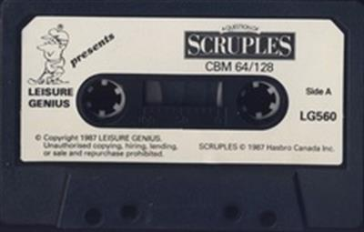 A Question of Scruples: The Computer Edition - Cart - Front