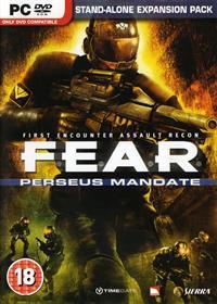 F.E.A.R.: Perseus Mandate - Box - Front