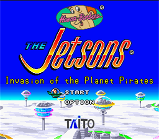 The Jetsons: Invasion of the Planet Pirates - Screenshot - Game Title