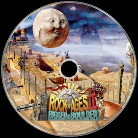 Rock of Ages II: Bigger & Boulder - Fanart - Disc