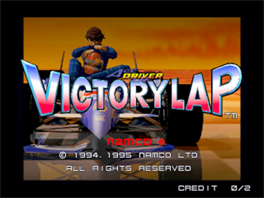 Ace Driver: Victory Lap - Screenshot - Game Title
