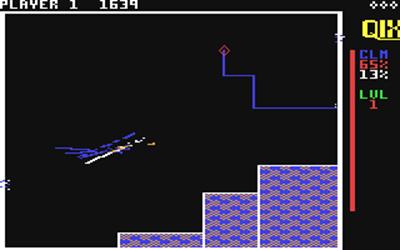 Qix - Screenshot - Gameplay
