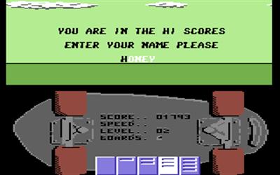 Rollerboard - Screenshot - High Scores