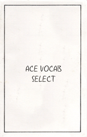 Ace Vocab Select