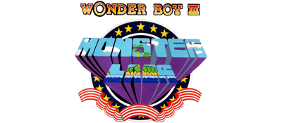 Wonder Boy III: Monster Lair - Clear Logo