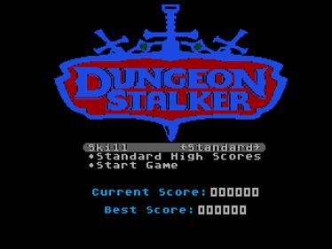 Dungeon Stalker - Screenshot - Game Title