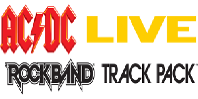 AC/DC Live: Rock Band Track Pack - Clear Logo