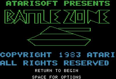 Battlezone - Screenshot - Game Title