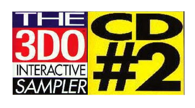 The 3DO Interactive Sampler CD #2 - Clear Logo