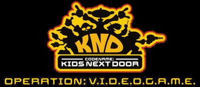 Codename: Kids Next Door: Operation: V.I.D.E.O.G.A.M.E. - Clear Logo