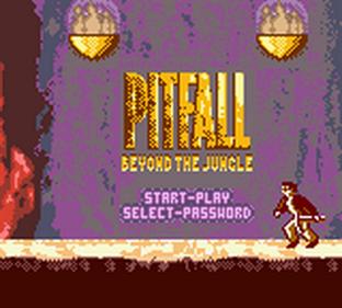 Pitfall: Beyond the Jungle - Screenshot - Game Title