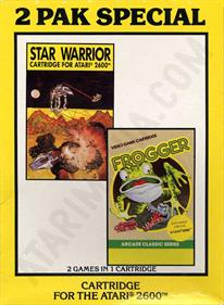 2 Pak Special Yellow: Star Warrior / Frogger