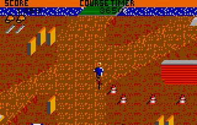 Paperboy - Screenshot - Gameplay