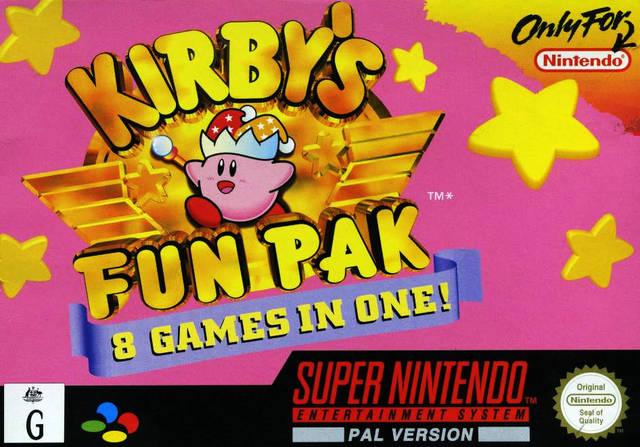Kirby Super Star Box Arts |Kirby Super Star Box