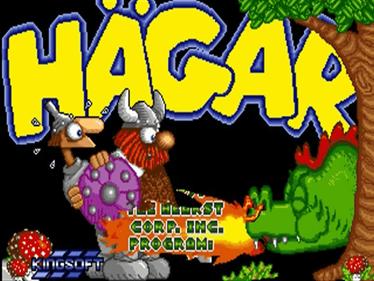 Hägar the Horrible - Screenshot - Game Title