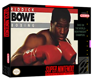 Riddick Bowe Boxing - Box - 3D