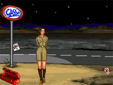 Leather Goddesses of Phobos 2: Gas Pump Girls Meet the Pulsating Inconvenience from Planet X! - Screenshot - Gameplay