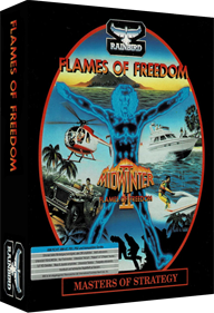 Flames of Freedom - Box - 3D