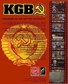 KGB - Box - Back