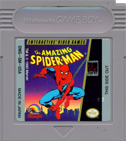 The Amazing Spider-Man - Cart - Front