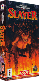 Advanced Dungeons & Dragons: Slayer - Box - 3D