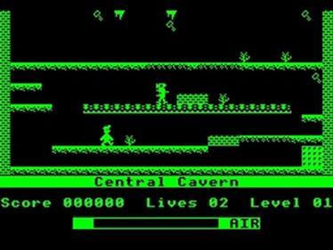 Manic Miner  - Screenshot - Gameplay