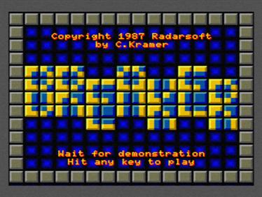 Breaker - Screenshot - Game Title