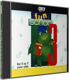 Fun School 3: For 5 to 7 Year Olds - Box - 3D