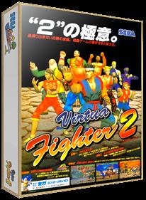 Virtua Fighter 2 - Box - 3D