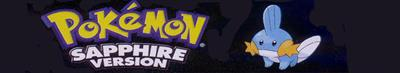 Pokémon Sapphire Version - Banner