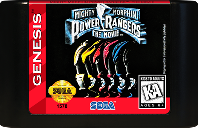 Mighty Morphin Power Rangers: The Movie - Cart - Front