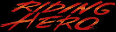 Riding Hero - Clear Logo