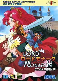 Lord Monarch: Tokoton Sentou Densetsu - Box - Front