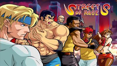Streets of Rage 2 - Fanart - Background