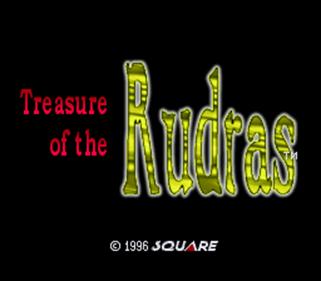Treasure of the Rudras - Screenshot - Game Title