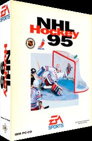 NHL Hockey 95 - Box - 3D