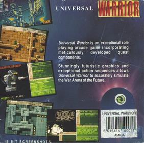Universal Warrior - Box - Back