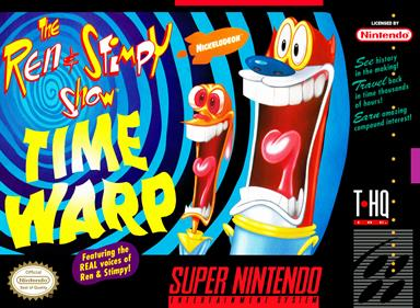 The Ren & Stimpy Show: Time Warp - Box - Front