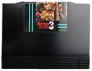 Metal Slug 3 - Cart - Front