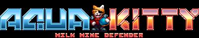 Aqua Kitty: Milk Mine Defender - Clear Logo
