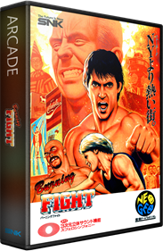 Burning Fight - Box - 3D