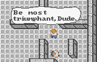 Bill & Ted's Excellent Adventure - Screenshot - Gameplay