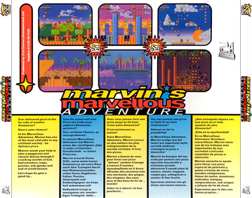 Marvin's Marvellous Adventure - Box - Back